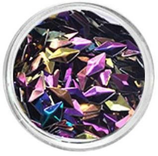 3d Diamond Flitter Black Purple