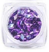 3d Diamond Flitter Purple