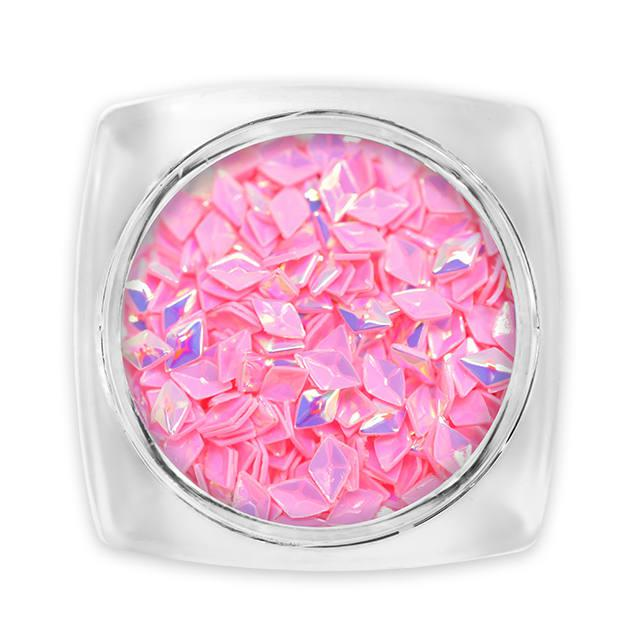 3d Diamond Flitter Rózsaszín