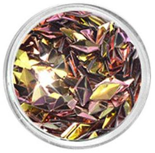 3d Diamond Nails Gold