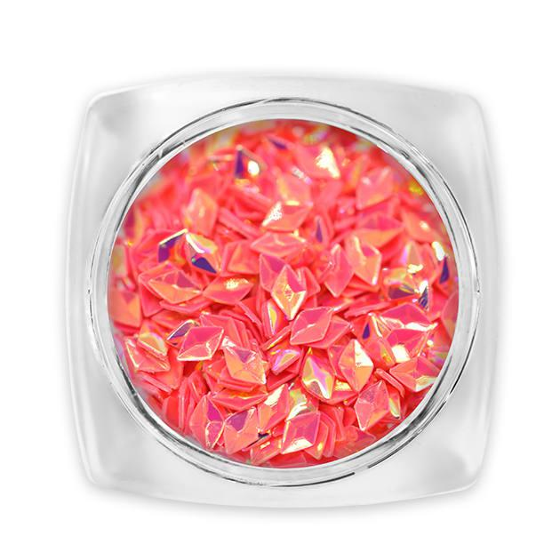 3D Gyémánt flitter - korall G5