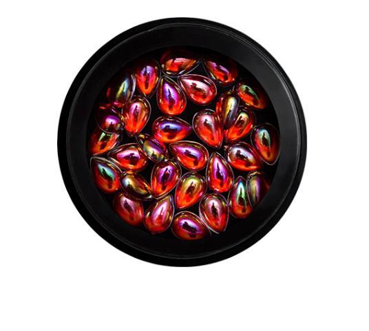 3D Holo Drops Piros