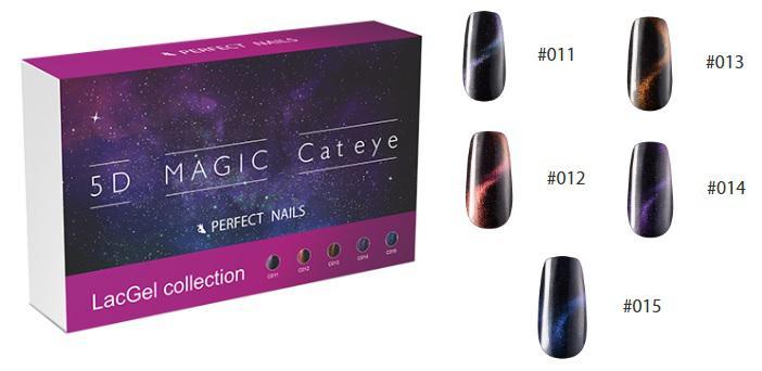 5D Magic CatEye készlet - 5x8ml