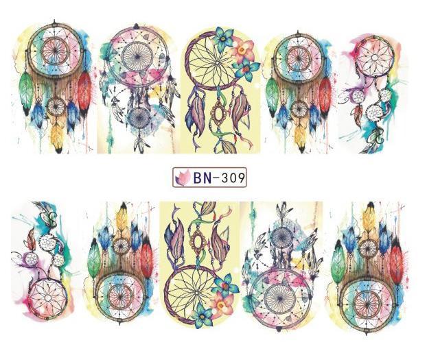 Akril Hatású Matrica,vizes,BN-309