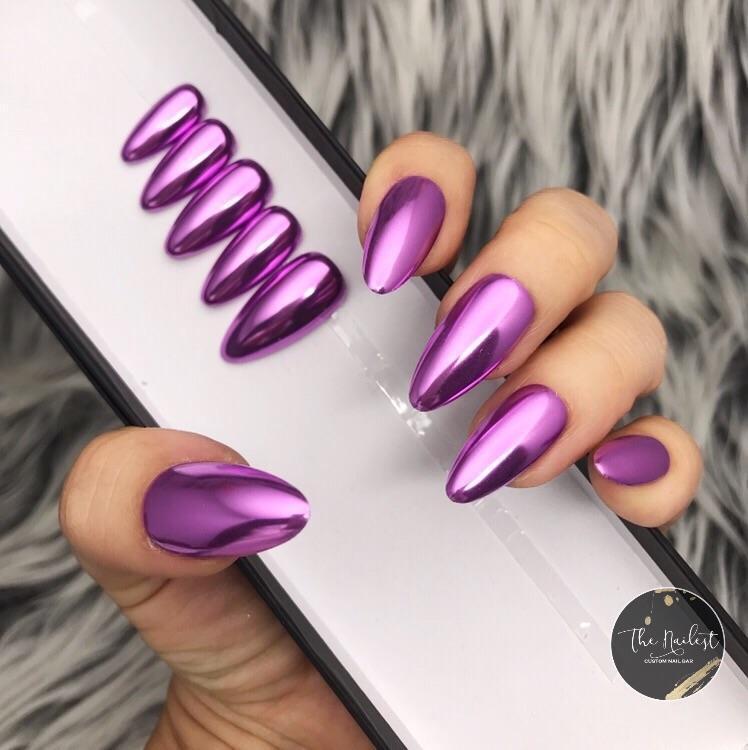 Chrome Mirror Purple ( Lila )