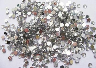 Ezüst strasszkő 1,5mm 200db 01