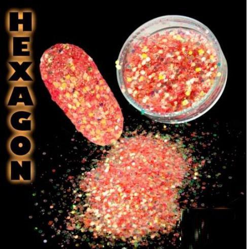 Hexagon flitter por Chilli
