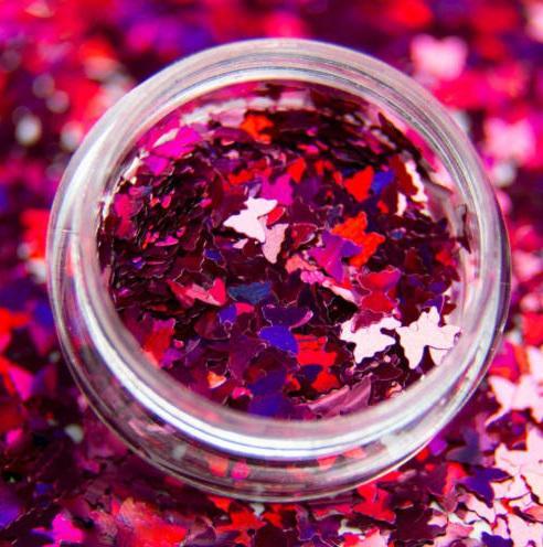 Hologrammos pillangó - #06 pink