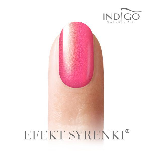 Indigo Hableány Neon Pink Effekt