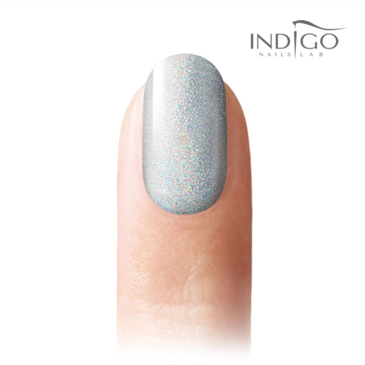 Indigo Holo Silver Effekt