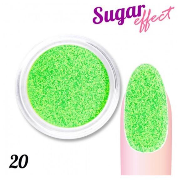 Matt neon csillámpor Neon Green