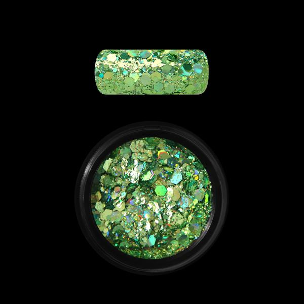Moyra Holo glitter mix, Green