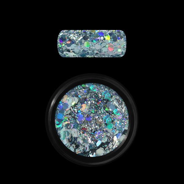 Moyra Holo glitter mix No.09 Light Blue