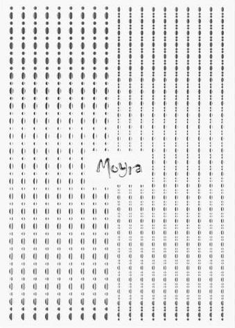 Moyra Körömdíszítõ csík DOTS No.02. Silver