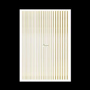 Moyra Körömdíszítő csík No. 01 Arany