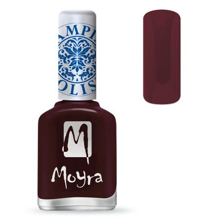MOYRA NYOMDALAKK SP 03, Burgundy Red