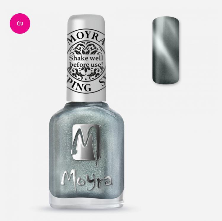 Moyra Nyomdalakk SP 30 Cat Eye Magnetic Silver