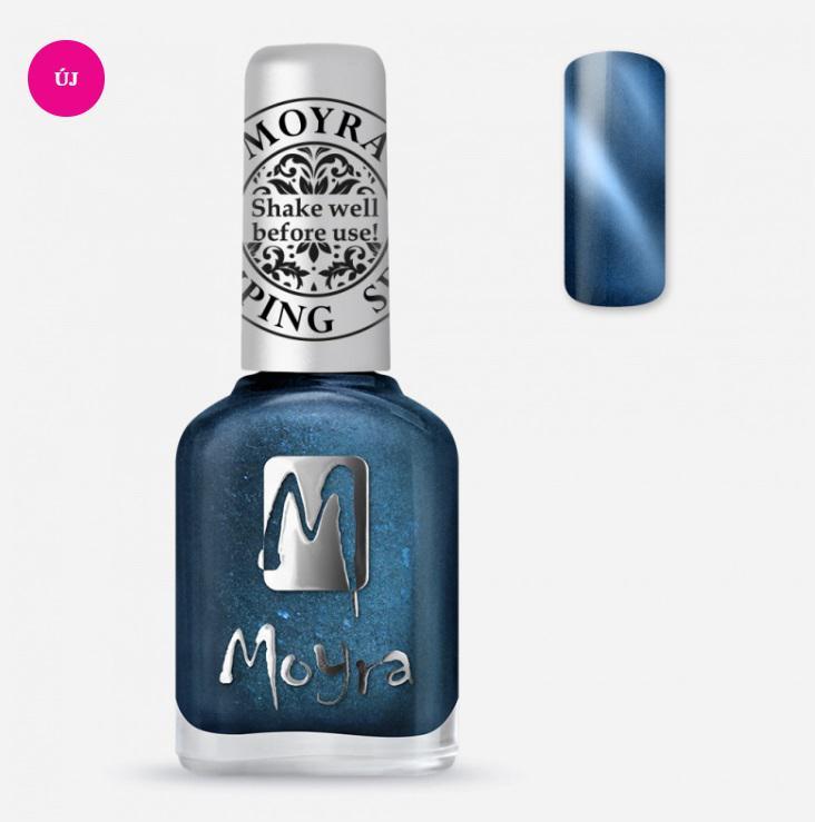 Moyra Nyomdalakk SP 33 Cat Eye Magnetic Blue