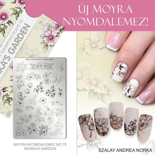 Moyra nyomdalemez No. 75 Norka's garden
