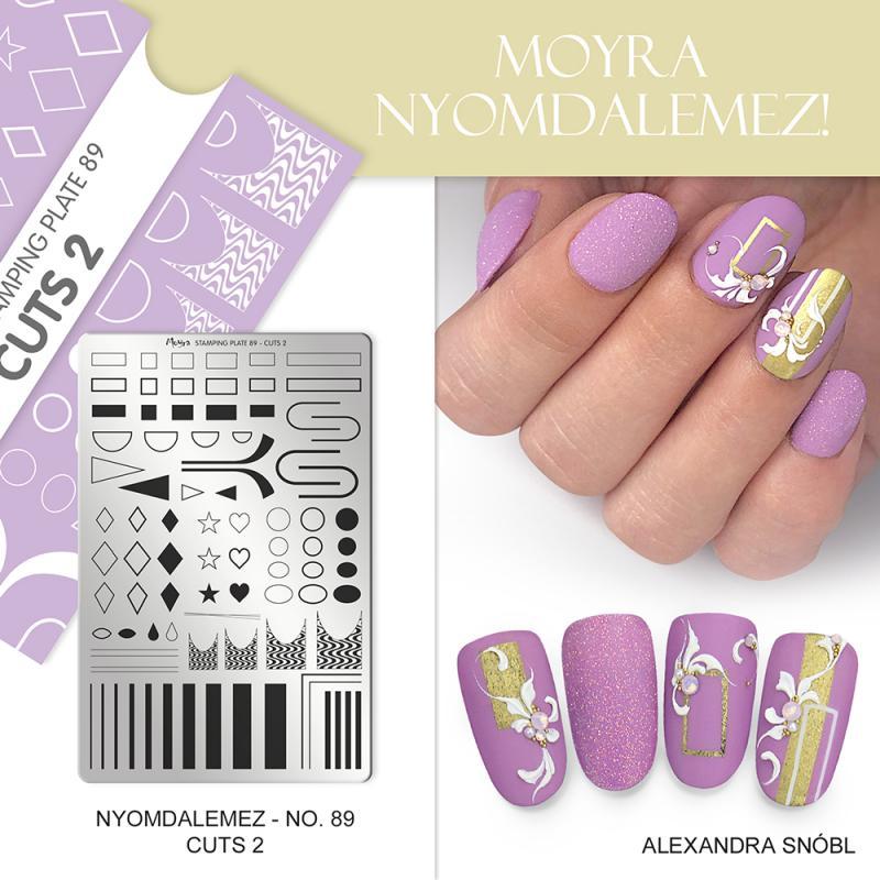 Moyra nyomdalemez No.89 Cuts 2