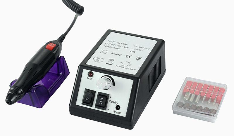 Műköröm csiszológép SET HBS-025N,black