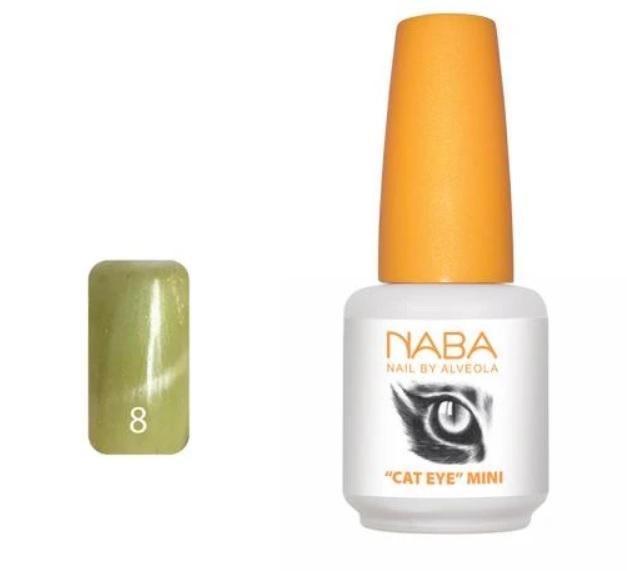 NABA Cat eye Stone Lac Gel CE8- 4 ml