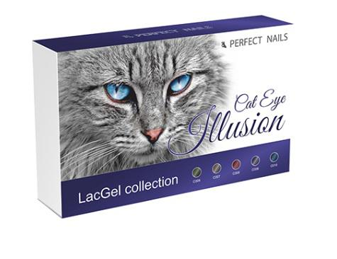 Perfect Nails Illusion CatEye LacGel Collection 5x8ml