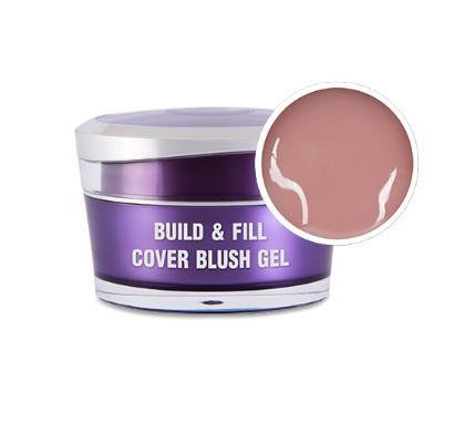 Perfect Nails Körömágyhosszabbító zselé Build&Fill; Cover Gel Blush 15ml