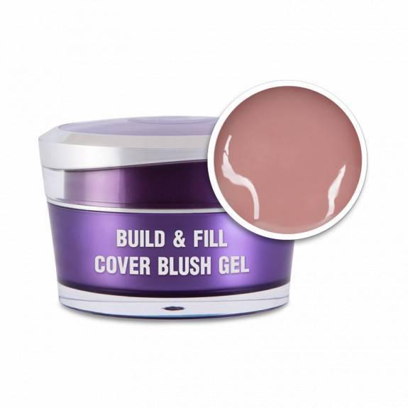 Perfect Nails Körömágyhosszabbító zselé Build&Fill; Cover Gel Blush 50ml