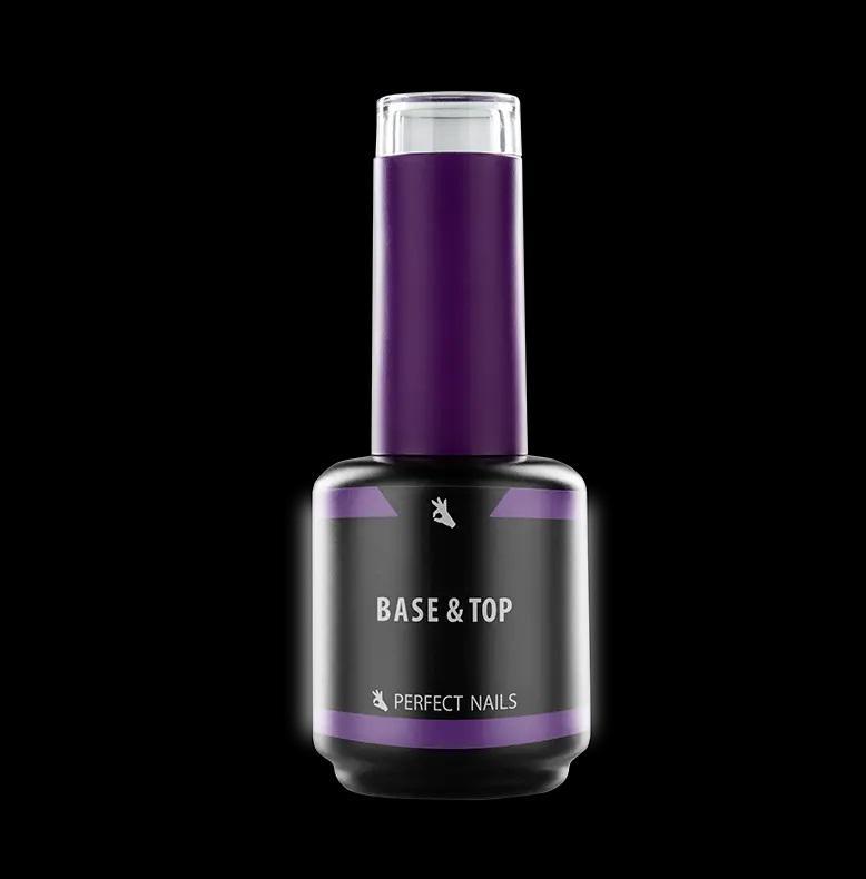 Perfect Nails LacGEL - Base és Top Clear #00, 15ml