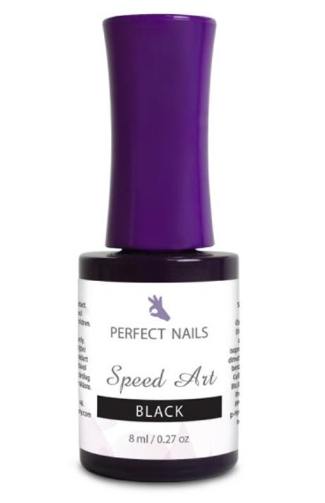 Perfect Nails Speed Art Line #S2 (black) 8ml