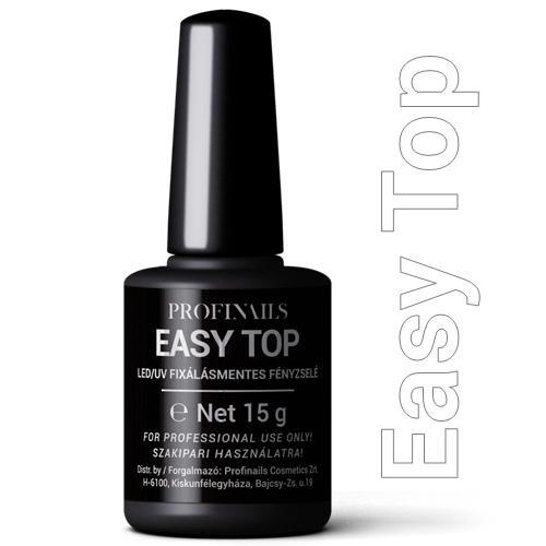 Profi Nails Easy Top fixálásmentes LED/UV fényzselé 15g