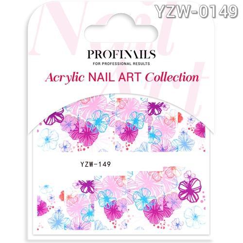 Profinails Acrylic Nail Art matrica YZW-0149
