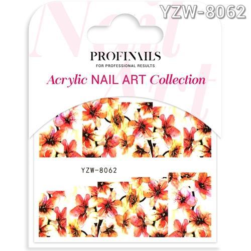 Profinails Acrylic Nail Art matrica YZW-8062