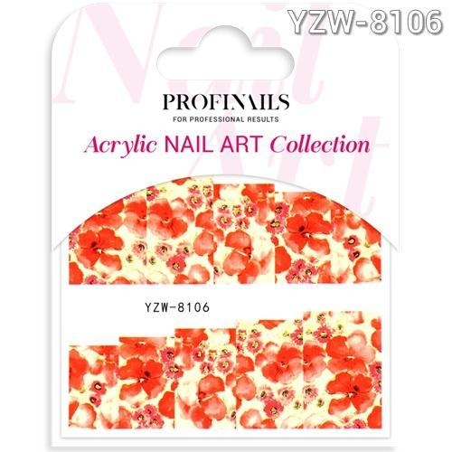 Profinails Acrylic Nail Art matrica YZW-8106