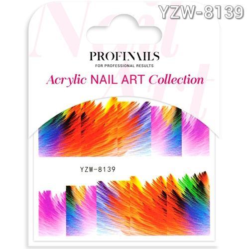 Profinails Acrylic Nail Art matrica YZW-8139