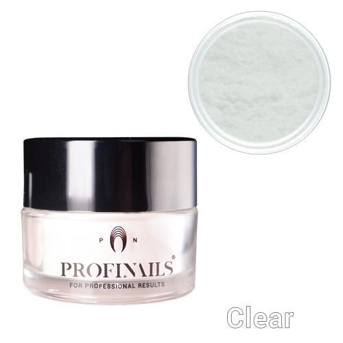 Profinails Acrylic powder clear 100g