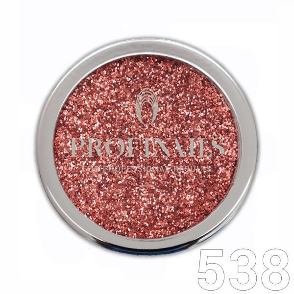 Profinails Cosmetic Glitter No. 538 Rose Gold