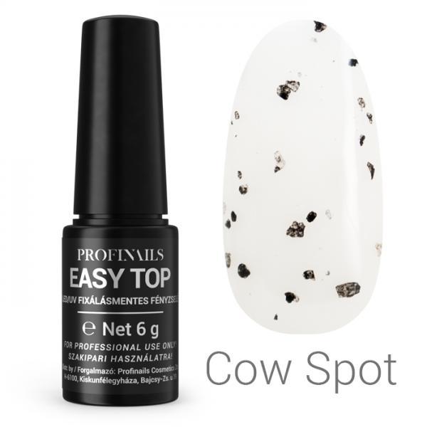 Profinails Easy Top fixálásmentes LED/UV fényzselé 6g (cow spot)