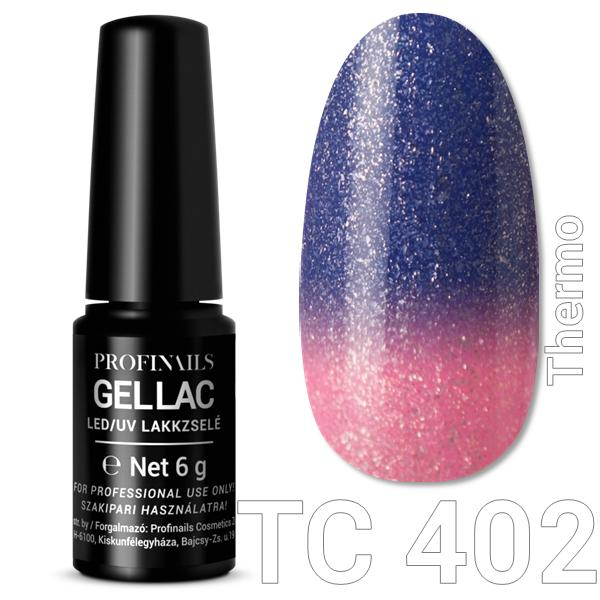 Profinails Gel Lac LED/UV lakkzselé 6gr No.402 Thermo