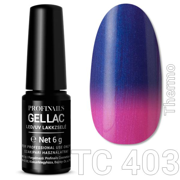Profinails Gel Lac LED/UV lakkzselé 6gr No.403Thermo