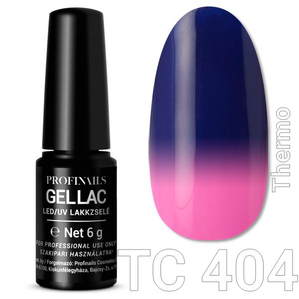 Profinails Gel Lac LED/UV lakkzselé 6gr No.404 Thermo