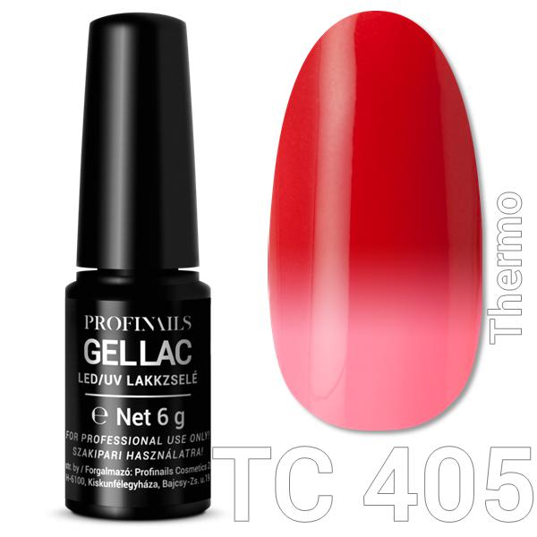 Profinails Gel Lac LED/UV lakkzselé 6gr No.405 Thermo