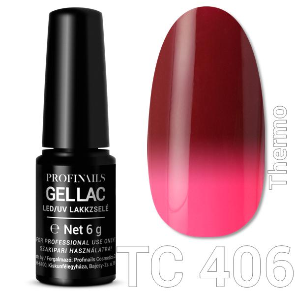 Profinails Gel Lac LED/UV lakkzselé 6gr No.406 Thermo