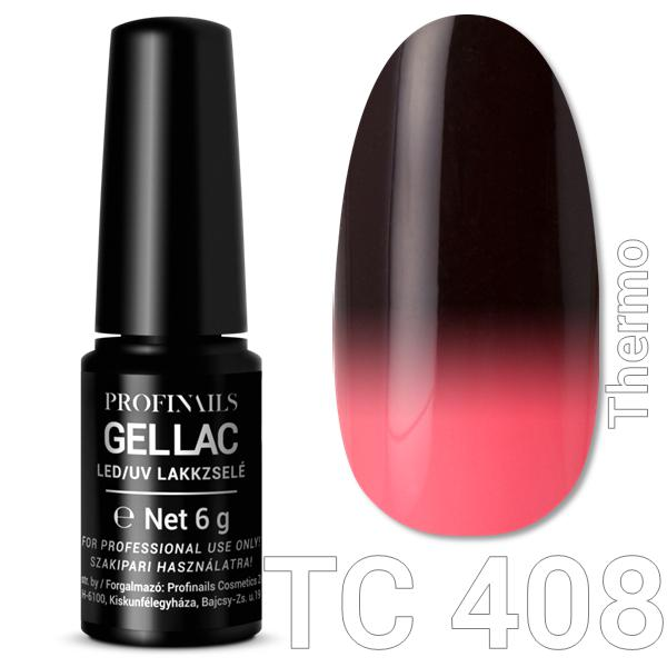 Profinails Gel Lac LED/UV lakkzselé 6gr No.408 Thermo