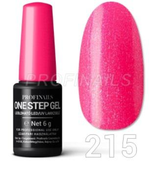 Profinails One Step Gel LED/UV lakkzselé 6gr No.215