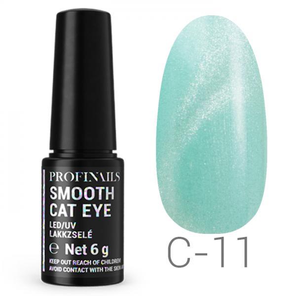 Profinails Smooth Cat Eye LED/UV lakkzselé 6g C 11