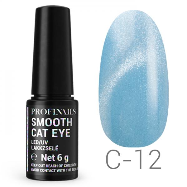 Profinails Smooth Cat Eye LED/UV lakkzselé 6g C 12