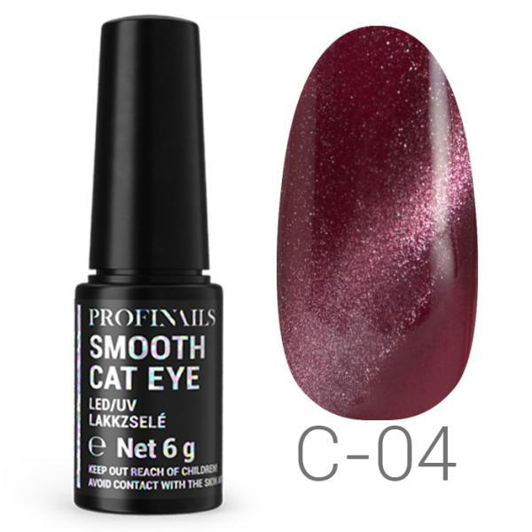 Profinails Smooth Cat Eye LED/UV lakkzselé 6gr C-04