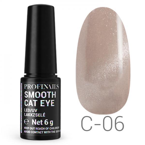 Profinails Smooth Cat Eye LED/UV lakkzselé 6gr C-06